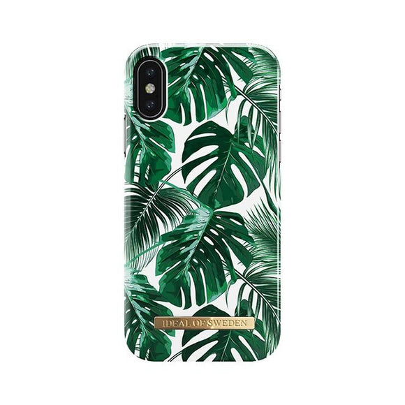 iPhoneX おしゃれ FASHION CASE 17S/S MONSTERA JUNGLE