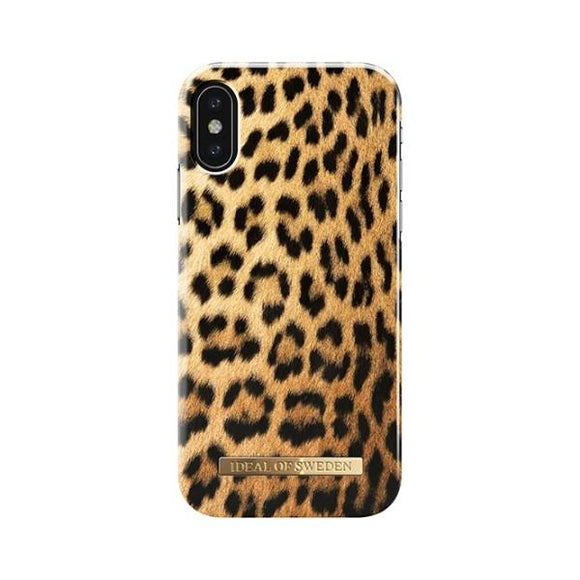 iPhoneX おしゃれ FASHION CASE 17-18A/W WILD LEOPARD
