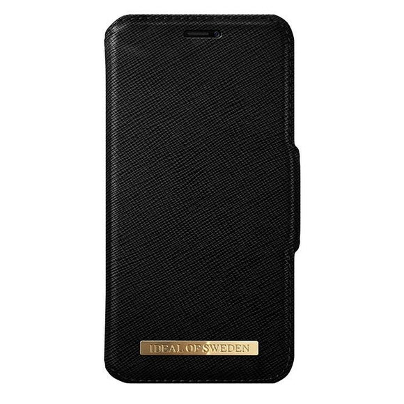 iPhoneX おしゃれ FASHION WALLET BLACK