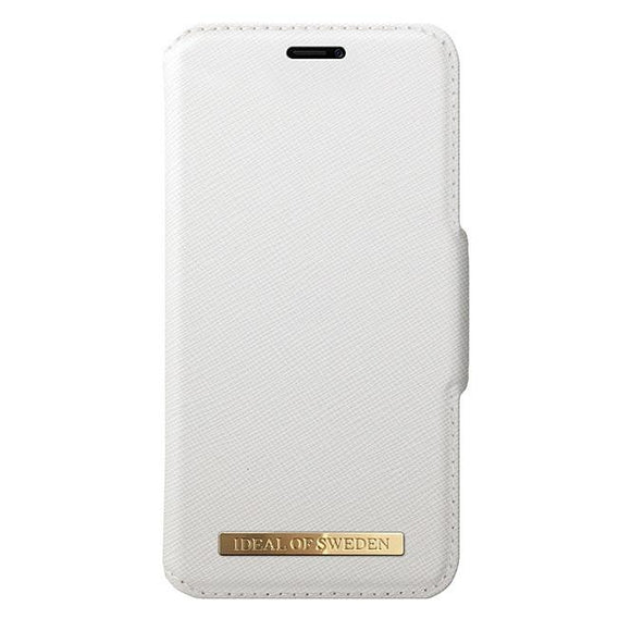 iPhoneX おしゃれ FASHION WALLET WHITE