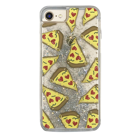 Glitter Case PIZZA