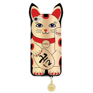 IPHORIA(アイフォリア) iPhone8/7 ケース GOLDEN LUCKY CAT