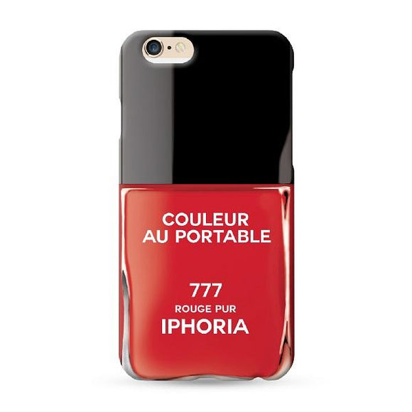 IPHORIA アイフォリア iPhone8/7 ケース COULEUR ROUGE PUR