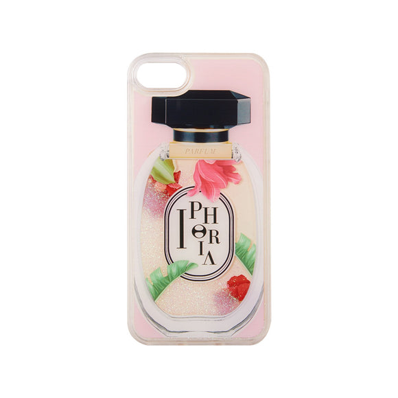 IPHORIA アイフォリア iPhone8 アイフォン8 iPhone7 香水瓶 花柄  ケース ピンク系 Perfume Round Multicolor Ornaments