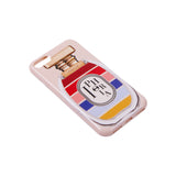 IPHORIA(アイフォリア)iPhone8/7 ケース Perfume Round Stripes Multicolor IPHORIA(パフューム ライン)