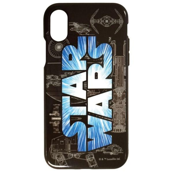 iPhoneXS/X ケース STAR WARS IIII fit ロゴ