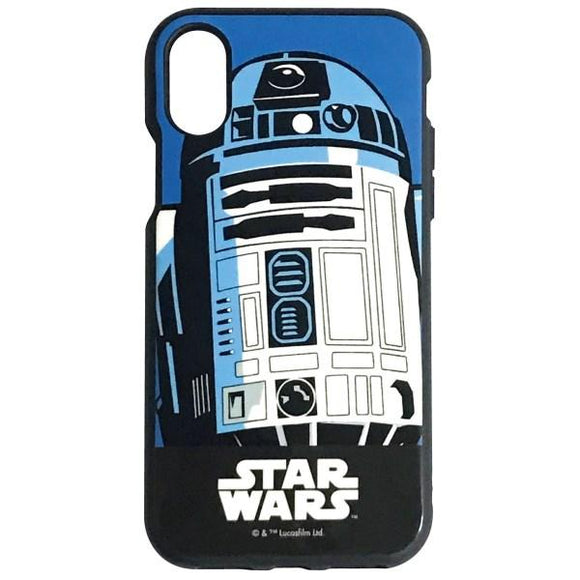 iPhoneXS/X ケース STAR WARS IIII fit R2-D2