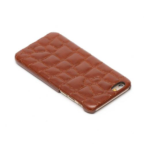 iPhone8/iPhone7/iPhone6s/6兼用 ハードケース Croco Quilting Bar
