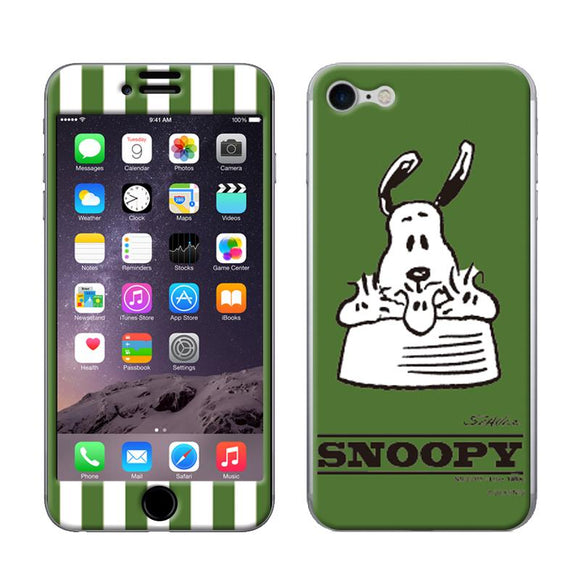 ギズモビーズ Gizmobies iPhone8/iPhone7 スキンシール Gizmo-iP07SNOOPY_GREEN_7