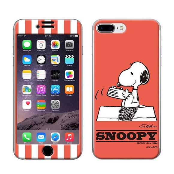 Gizmobies ギズモビーズ  スキンシール Gizmo-iP07 SNOOPY_CORAL_7P