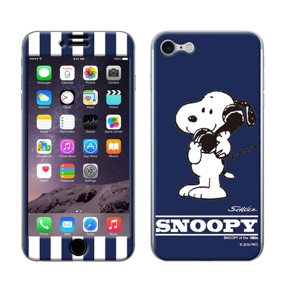 ギズモビーズ Gizmobies iPhone8/iPhone7 スキンシール Gizmo-iP07SNOOPY_NAVY_7