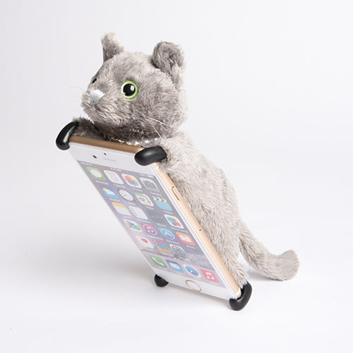 iPhone8/iPhone7/iPhone6s/6兼用 ソフトケース ZOOPY home ネコ グレーの商品画像