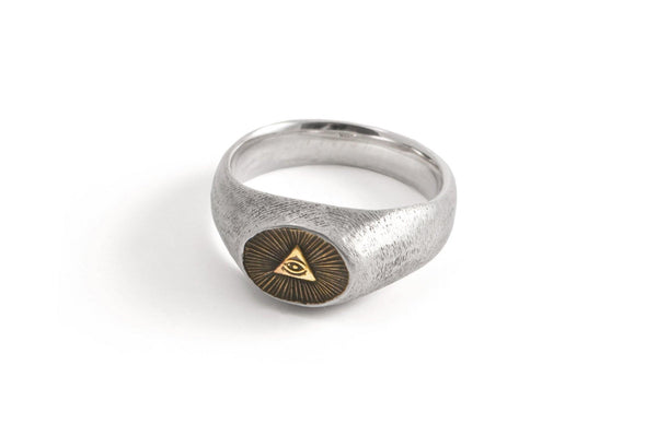 #007 - Signet Ring All-Seeing Eye