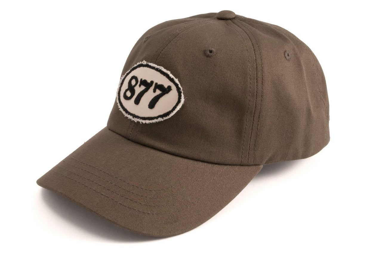 #185 - Basecap Dad Cap Racing Number olive