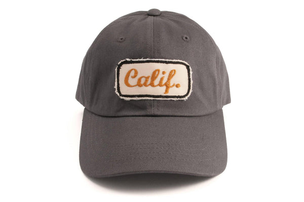 #186 - Basecap Dad Cap Calif. grey