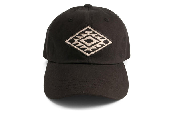 #190 - Basecap Dad Cap Navajo Pattern black