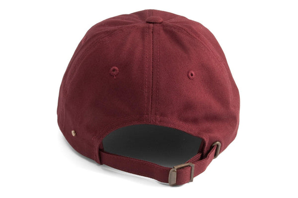 #193 - Basecap Dad Cap Ride burgundy
