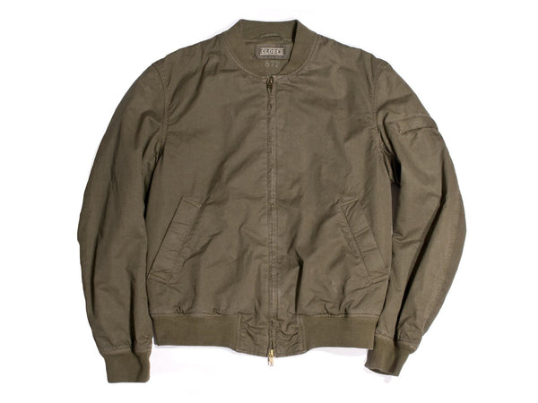 "#118 - Men's bomber jacket with embroidery ""Triumph Motors"" – one of one"
