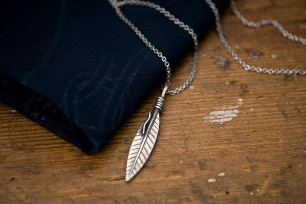#062 - Necklace Feather