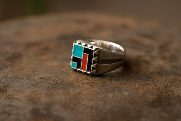 #016 - Signet Ring Geometric