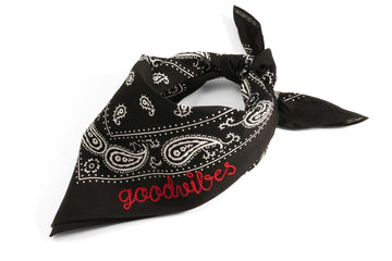 #097 - Custom embroidered bandana - 877 Workshop