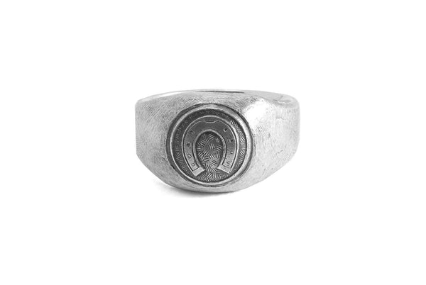 #009 - Signet Ring Horseshoe