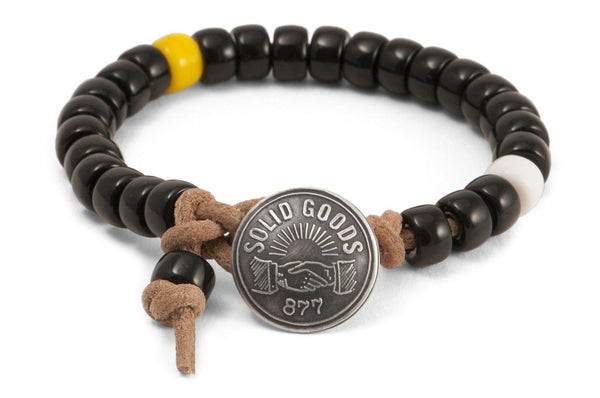 #130 - Men's Concho bracelet black