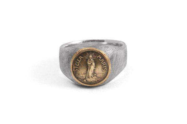 #016 - Signet Ring Stella Maris