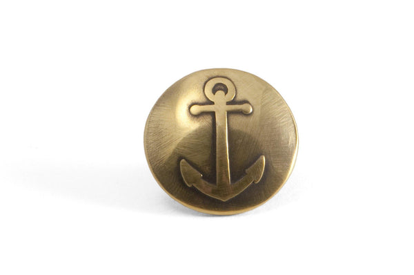 #050 – Sailor Pin: Anchor, Compass Rose, Umi (japanese: the Sea)