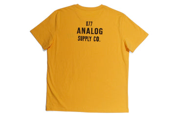 #103 - Men's T-Shirt 877 Analog Supply Co. - 877 Workshop