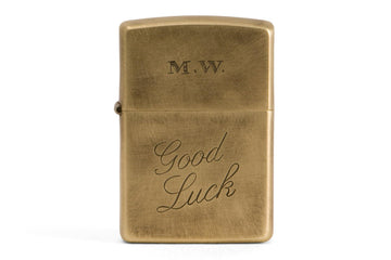 #086 - Windproof lighter Good Luck - 877 Workshop