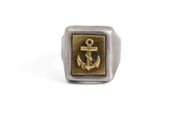 #13 - Signet Ring Navy