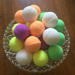 Golden Ball Bath Bombs. Scents of Coffee & Caramel. Great value 4 for