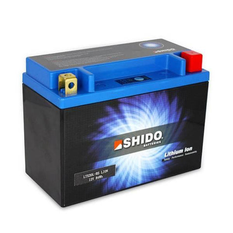 SHIDO LTX 20LBS LION LITHIUM MOTORCYCLE BATTERY