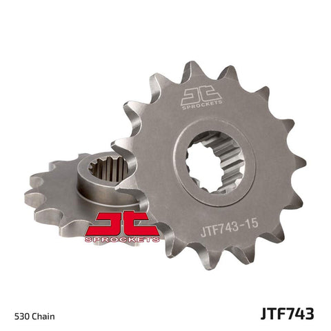 JT Front Sprocket Ducati Multistrada/Monster (10-16)