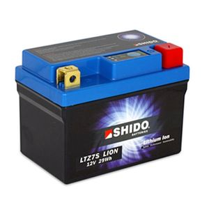 SHIDO LTZ 7S LION LITHIUM MOTORCYCLE BATTERY