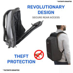 Backpack - RoadGods Ghost Daring - Anti-Theft Laptop Backpack