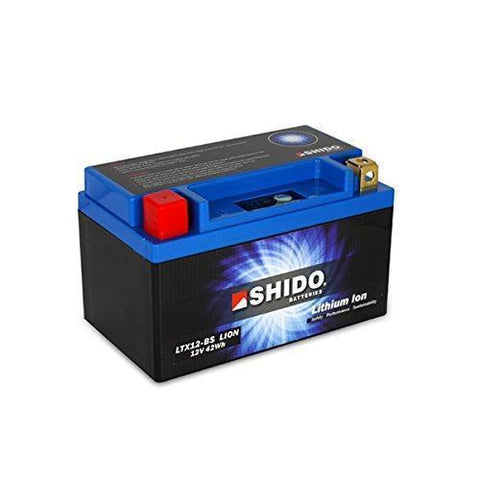 SHIDO LTX12BS LION LITHIUM MOTORCYCLE BATTERY