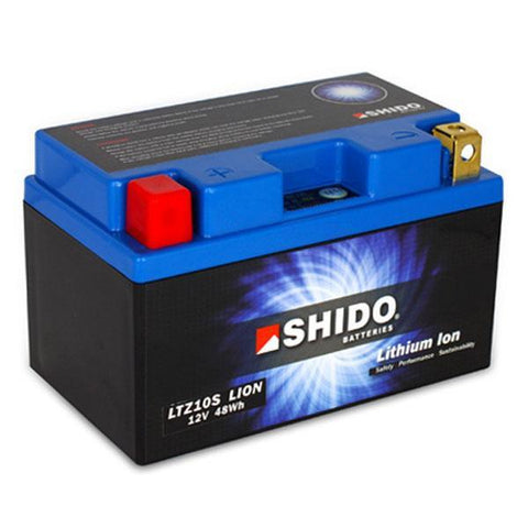 SHIDO LTZ10S LION LITHIUM MOTORCYCLE BATTERY