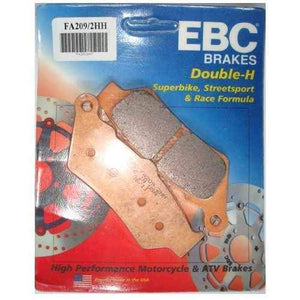 Open image in slideshow, Brake Pads - EBC Brake Pads For DUCATI DIAVEL CARBON ABS