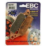 Brake Pads - EBC Brake Pads For KAWASAKI NINJA 650 (2006 - 2016)