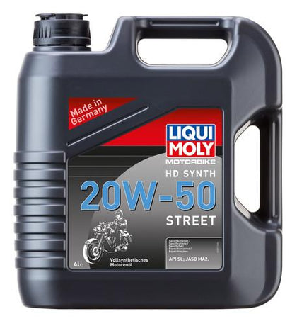 Engine Oil - Liqui Moly Harley Davidson Synth 20W 50