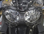 Headlight Guard - AltRider Clear Headlight Guard For The Triumph Tiger 800 - Black