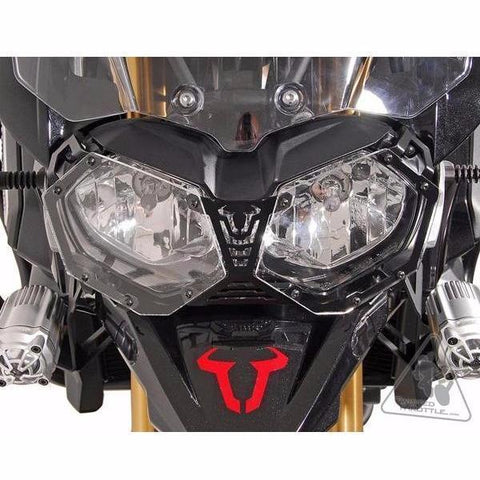 Headlight Guard - Headlight Guard For Triumph Tiger 800/Explorer 1200 By SW-MOTECH