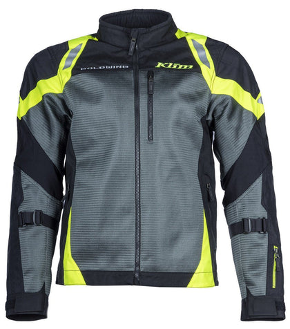 Jacket - KLIM Induction Jacket Grey/Neon