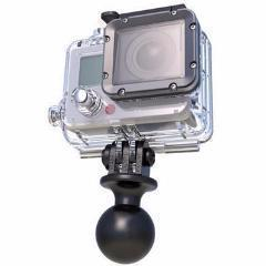 "Mobile Mounts - RAM Mount Camera 1"" Ball With Custom GoPro"