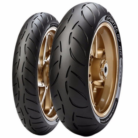 Motorcycle Tyres - Metzeler SPORTEC M7 (Sizes- 120/70/17, 180/55/17, 190/50/17, 190/55/17)