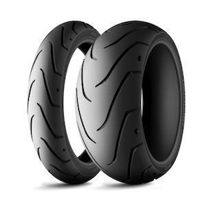 Motorcycle Tyres - Michelin SCORCHER 11 HD STREET 750 TYRES (Sizes:- 100/80 R17 & 140/75 R15)