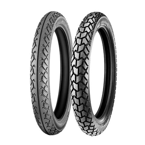 Motorcycle Tyres - Michelin SIRAC STREET (Sizes Available- 3.25-19 & 3.50-19)