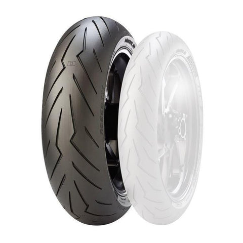 Pirelli Tyres | Motorcycle Tyres - Pirelli Diablo Rosso III Tyre's (Sizes Available- 120/70 ZR 17, 180/60 ZR 17, 180/55/ZR17 73W,190/55 ZR 17 & 200/55 ZR 17)